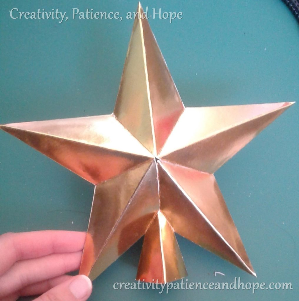 gold star with base